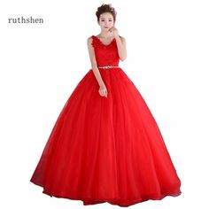 41572dcaaa013 Ruthshen Warming Red Vestidos De Dulces 16 Quinceanera Dresses With  Appliques Sleeveless Belt Sweet 15 Masquerade