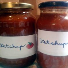 Ketchup, Hungarian Cuisine, Pesto, Love Food, Salsa, Dips, Food And Drink, Jar, Recipes