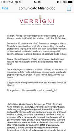 Abruzzo a Casa Abruzzo #verrigni shiwcooking con Marco Ricci