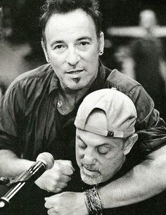 Bruce and Billy Joel #springsteen #joel