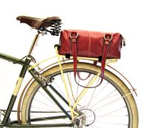 Pretty Bicycle Trunk Bag by PedalPosh on Etsy, $70.00