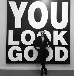 you look #good