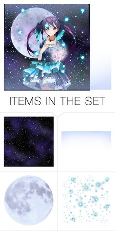 """stary night"" by sackura ❤ liked on Polyvore featuring art"