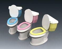 Toilet Papercraft