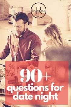 We have over 90 date night questions, some of which are funny and deep but all are insightful. Most of our date night questions are perfect for longer term or married couples. If you are a new couple we have first date questions to use. Choose the questions that fit how well you know your partner.