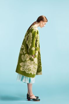 Longing For Sleep by Marit Ilison Unique Collection 2015 Blanket Coat, Wool Felt, Felted Wool, Colorful Fashion, Vanity Fair, Spring Fashion, Ready To Wear, Luxury Fashion, Vogue