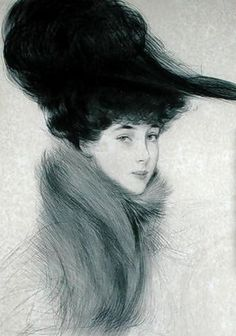"Paul César Helleu. ""Madame Helleu"""