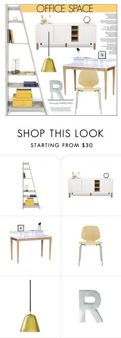 """""""Office Decor"""" by lovethesign-eu ❤ liked on Polyvore featuring interior, interiors, interior design, home, home decor, interior decorating, TemaHome, Normann Copenhagen, Nyta and office"""