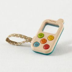 While this may not be the best way to keep in touch with all of your friends and family, it's definitely the perfect phone to let your little ones play with.  It features a magnifier screen and a beaded dial pad.