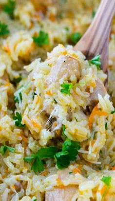 Creamy Chicken and Rice Recipe (a one-pot meal)