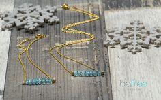 Viva la vida - BeFreeDesign - Komplet biżuterii pozłacanej