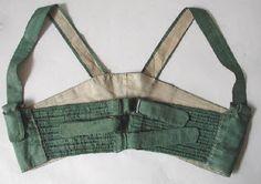 Kleidung um 1800: 1801 Corset de Soie