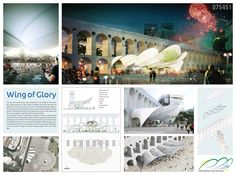 [A3N] : Symbolic World Cup Structure Competition - RIO DE JANEIRO (1st : Wing of Glory) / Karim Hassayoune (France)