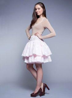 Cotton Skirt, Ruffle Skirt, Ruffles, Cotton Fabric, 1950s Outfits, Flare Skirt, Midi Skirt, Plus Size Dresses, Skirt Fashion