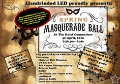 Masquerade Ball - Llandrindod Wells - EventsnWales, Llandrindod LED would like to introduce our launch event, Masquerade Ball – the chance to wear that .....