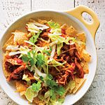 We LOVE to eat taco salad-esque meals when we camp and this sounds like a yummy option.