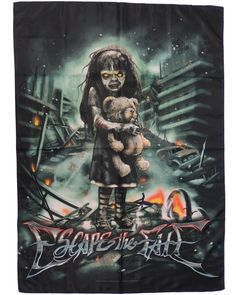 NEW IN STOCK! @escapethefate ESCAPE THE FATE Official Merchandise Product TEXTILE FLAG/POSTER - NIGHTMARE http://ift.tt/1VkP7rR