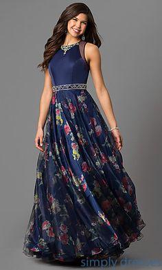 Prom dress artsy