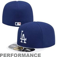 New Era L.A. Dodgers 2013 Diamond Era  59FIFTY Fitted Hat - Royal Blue/Gray