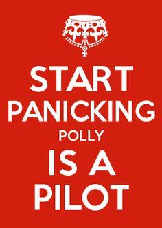 START PANICKING POLLY IS A PILOT