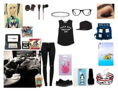"""""""you, michael and calum fall asleep in the lobby"""" by haileybyars ❤ liked on Polyvore"""
