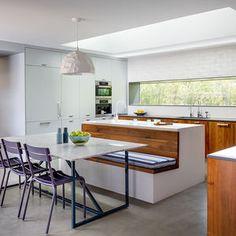 Kitchen in a Bel Air ranch-style home