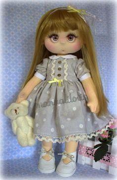 tutorial en mi canal manualilolis Girls Dresses, Flower Girl Dresses, Harajuku, Wedding Dresses, Style, Fashion, Doll, Beautiful Things, Hacks