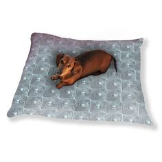 Uneekee Square Structure Dog Pillow Luxury Dog / Cat Pet Bed