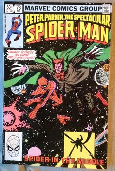 Peter Parker, The Spectacular Spider-Man #73 Marvel Comics