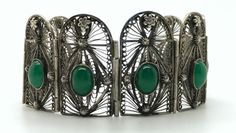 Vintage Art Nouveau Sterling Silver Filigree by FemmeFataleFinery