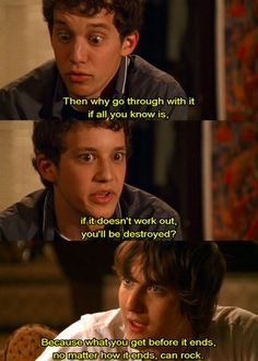 Rusty and Cappie- I loved Greek! I wish it was still on