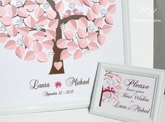 Flowering Wedding Tree  Wedding Guest Book Ideas by WeddingUkraine