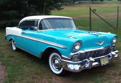 1956- Chevrolet Bel air