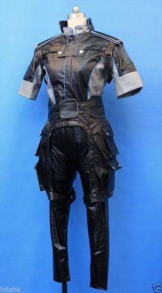 Mass Effect 3 Male Uniform Cosplay Costume Custom Made Lotahk   eBay