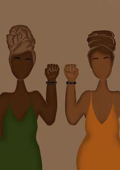 Black Lives Matter - www.hzllarts.com Black Love Art, Black Girl Art, Art Girl, Black Art Painting, Black Artwork, Black Aesthetic Wallpaper, Black Girl Aesthetic, Black Cartoon, Cartoon Art