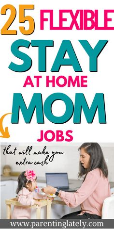 These are the best work from home jobs for stay at home moms. Make a full income with these easy work at home jobs. #stay at home mom income Work From Home Tips, Stay At Home Mom, Home Based Business, Business Ideas, Best Online Jobs, Kids And Parenting, Parenting Tips, Potty Training Tips, Online Tutoring