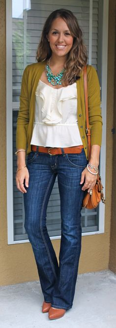 Today's Everyday Fashion: Moss Cardigan — J's Everyday Fashion