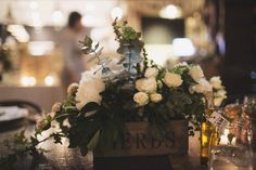 Rustic Floral inspiration / Lovestruck Weddings & Events / LANE (instagram: the_lane)