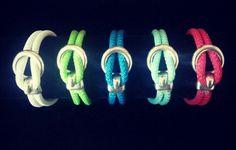 Armbänder aus Segelseil mit Hakenverschluss #youngandcheeky #Handmade