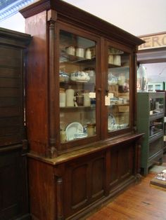 old store cabinet antique furniture apothecary general store candy
