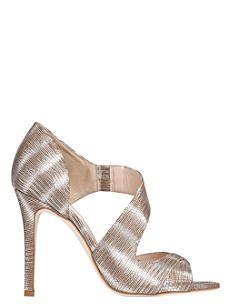 LK BENNETT Laura striped metallic sandals