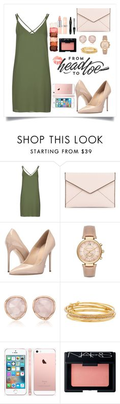 """""""Untitled #234"""" by rena-veloni ❤ liked on Polyvore featuring Topshop, Rebecca Minkoff, Massimo Matteo, Michael Kors, Monica Vinader, Kate Spade, NARS Cosmetics, NYX and Lancôme"""