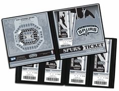 San Antonio Spurs Ticket Album - One trip to an NBA arena can provide a lifetime of memories. And the ticket that opened the door, the actual game ticket, can help capture those memories forever. So whether you have a large ticket collection or you're just starting out, a Ticket Album is the perfect item to store, display, and protect your memories.