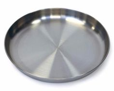 Stansport 9 inch Stainless Steel Plate