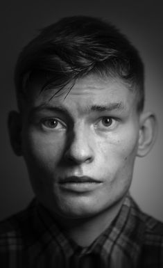 Snegirev Ivan / Zimniy Black and white portrait photography. Carl Zeiss.