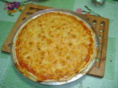 Pizza de Camarão - Pitadas de Sabor e Arte