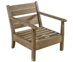 Sillón de madera de acacia MARTINICA - Leroy Merlin