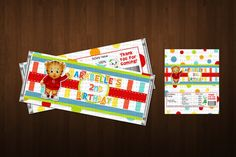 Daniel Tiger Candy Bar Wrapper Daniel Tiger by lovebuggydesigns, $4.99