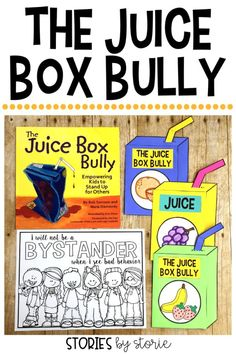Have you ever had a student like Pete from The Juice Box Bully? I have! Here are some activities I paired with this story to help my classroom situation.