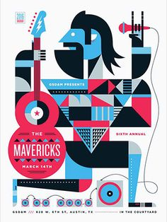 Minds Behind the Designs: SXSW Poster Art | GSD&M